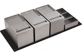 SINK-DRAWER - PATTUMIERA ELITE CON PORTADETERSIVI DA 120 - ELGI012BXXUN