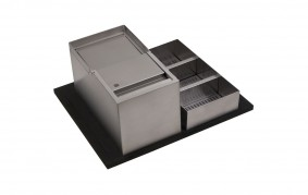 SINK-DRAWER - PATTUMIERE ELITE CON PORTADETERSIVI - BASE 60 - ELGI060AXXUN