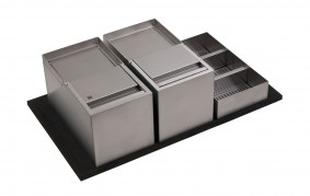 SINK-DRAWER - PATTUMIERE ELITE CON PORTADETERSIVI - BASE 90 - ELGI090AXXUN