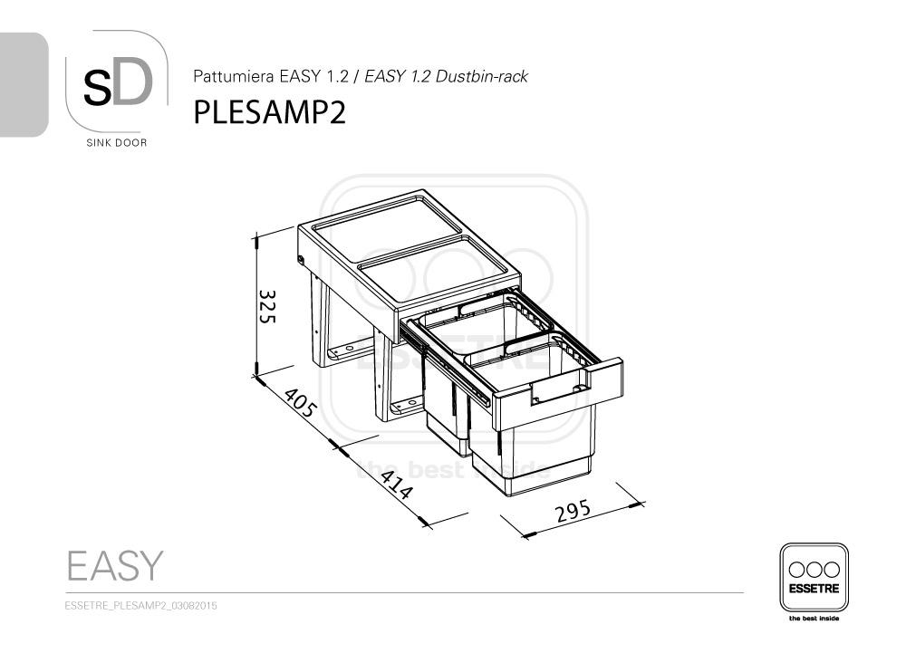 Plesamp2 essetre spa for Planimetria semplice con dimensioni