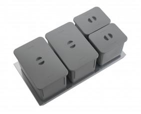 SINK-DRAWER - PATTUMIERA BIO BASIC CON COPERCHI CLASSIC - BASE 100 - GI10AA0BMCAV