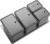 Pattumiere Bio - BASIC Sink-drawer