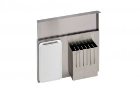 WORK-STATION - PARETE INOX CON ACCESSORI - BASE 60 - SW06001XUN