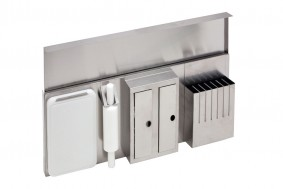 WORK-STATION - PARETE INOX CON ACCESSORI - BASE 90 - SW09001XUN