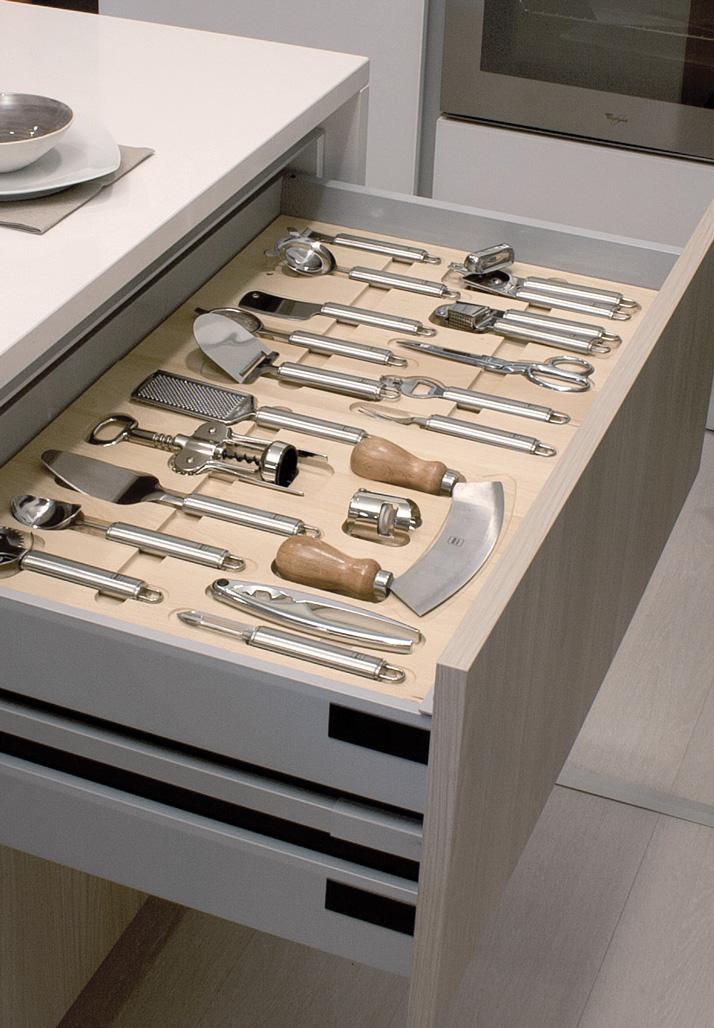 Ga9004 essetre spa - Accessori per cassetti cucina ...