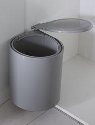 Pattumiera CORNER Sink-door