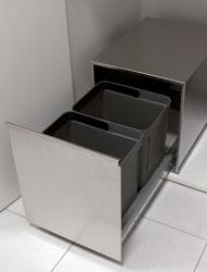 Pattumiere DELUXE Sink-door