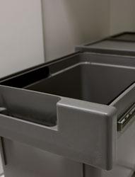 Pattumiere EASY - plastica Sink-door